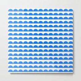 BREE ((true blue)) Metal Print