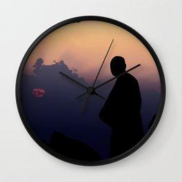 Contemplation - Spiritual jorney of a Monk T-Shirt Wall Clock