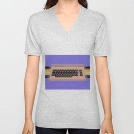 Commodore64 Unisex V-Neck