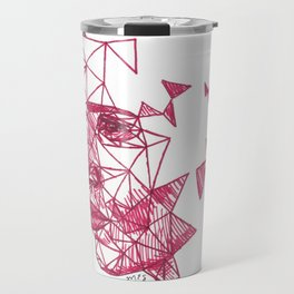 Eddie Redmayne Fracture Drawing Travel Mug