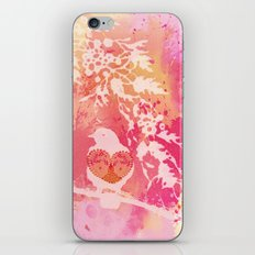 Hope is a Thing With Feathers iPhone & iPod Skin