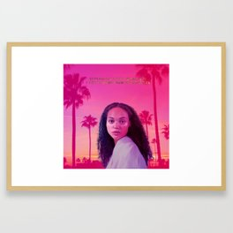 Kemi Mai x Luna Shadows Framed Art Print