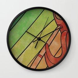 CIORIØOUITTI From LinebOo0O (Didgeridoo) Wall Clock