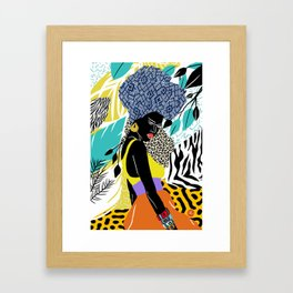 Crown Queen Framed Art Print