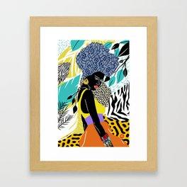 Crown Queen Framed Art Print