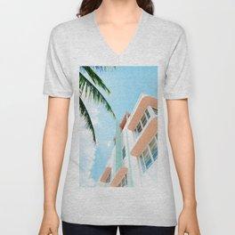 Miami Fresh Summer Day Unisex V-Neck
