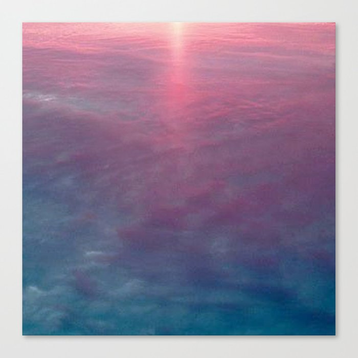 Sky and Water Canvas Print