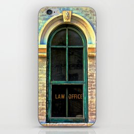 Law Office iPhone Skin