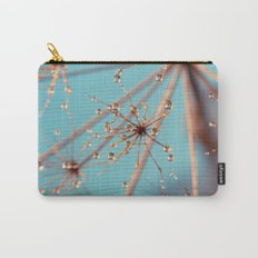 Queen Anne's Lace in Blue Carry-All Pouch