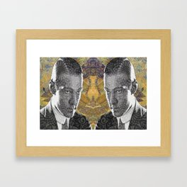The Mirror Conspiracy Framed Art Print