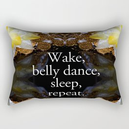 Belly dance Rectangular Pillow