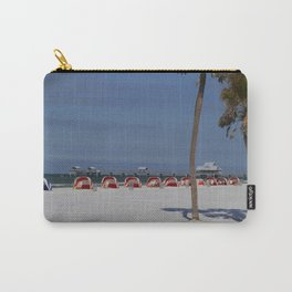 A November Day At Clearwater Beach Carry-All Pouch
