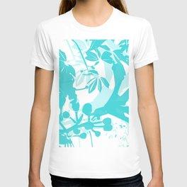 BC blue silhouette T-shirt