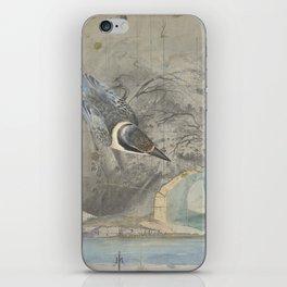 A Hemline of Water Through Smoke iPhone Skin