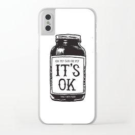 IT'S OK Clear iPhone Case