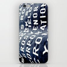 Banner  iPhone & iPod Skin
