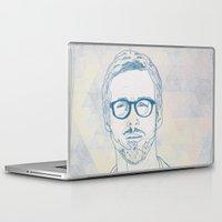 ryan gosling Laptop & iPad Skins featuring RYAN by Itxaso Beistegui Illustrations
