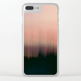 The Moment Love Began Clear iPhone Case
