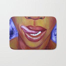 Follow My Lips Bath Mat