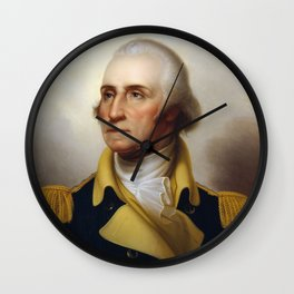 General George Washington Wall Clock