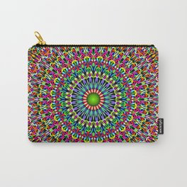 Happy Garden Mandala Carry-All Pouch