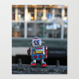 urban bot Canvas Print