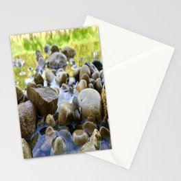 Stuck Between a Rock and a Wet Place Stationery Cards