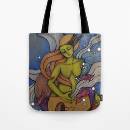 Lady Life Tote Bag
