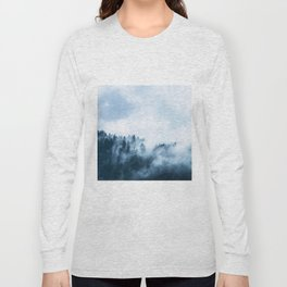 The Wilderness, Foggy Forest Long Sleeve T-shirt