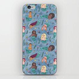 Mischievous Mermaids iPhone Skin