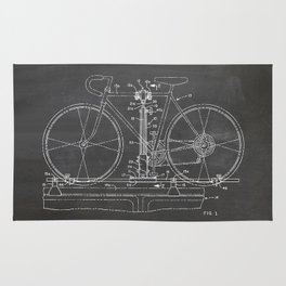 Bike carrier patent Rug