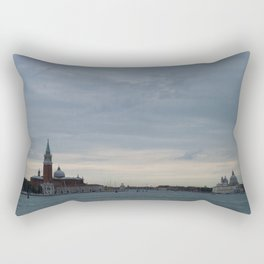 Venice laguna at sundown Rectangular Pillow