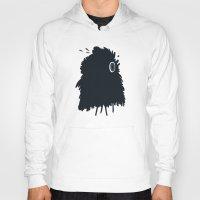 furry Hoodies featuring furry by alex eben meyer