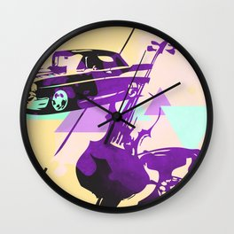 Throwback Wall Clock