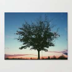 Stand Alone Tree Canvas Print