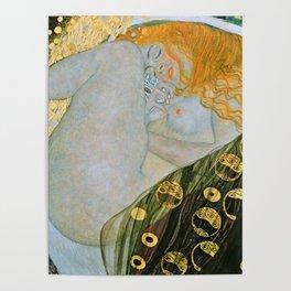 Gustav Klimt - Danae Poster