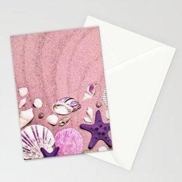 Vintage Pink Summer Stationery Cards