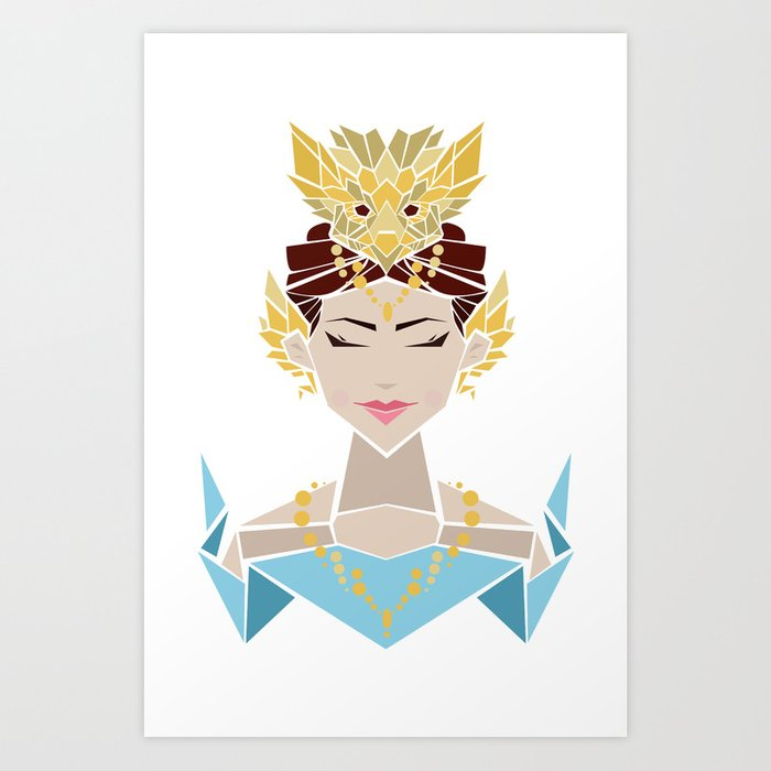 Legendary Princess Art Print