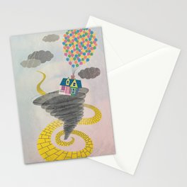 The Wizard of Up Stationery Cards