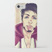 selfie iPhone & iPod Cases featuring SELFIE by FISHNONES
