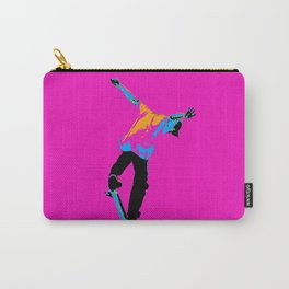 """Flipping the Deck"" Skateboarding Stunt Carry-All Pouch"