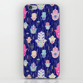 Hamsa Mystical Protection iPhone Skin
