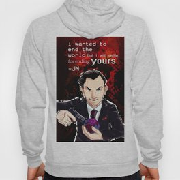 Moriarty will end your World Hoody