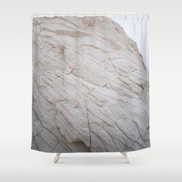 White Sands Dunes Shower Curtain