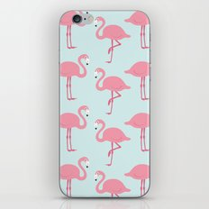 Flamingo Pattern iPhone & iPod Skin