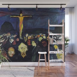 Edvard Munch - Golgotha Wall Mural