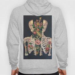 Skeleton of flowers Hoody