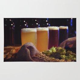 Beer Tasting 101 home brew Rug