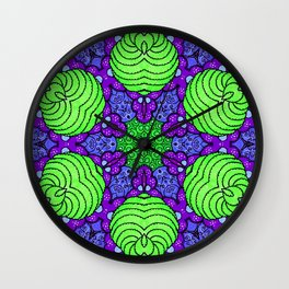 Brussel Sprout Wall Clock