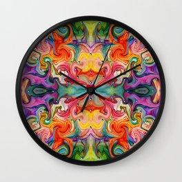 Color my Senses Wall Clock